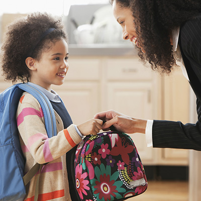 Does your child's lunch box come home with a majority of the food left uneaten or do teachers tell you that your child is not participating in meals at school?